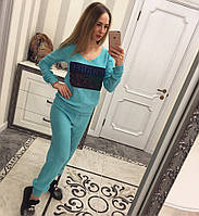Женский вязаный спортивный костюм CHANEL