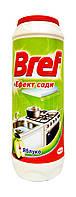 Порошок для чистки Bref + Эффект соды Яблоко для кухни - 500 г.
