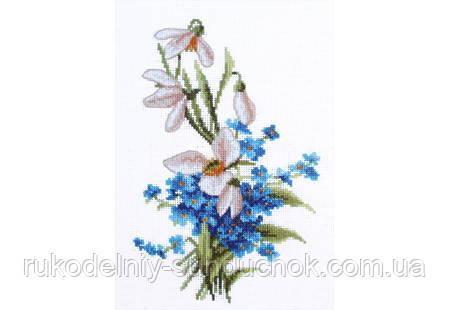 """Набор для вышивания крестом ТМ """"Повітруля"""" Весенние цветы  П6 009"""