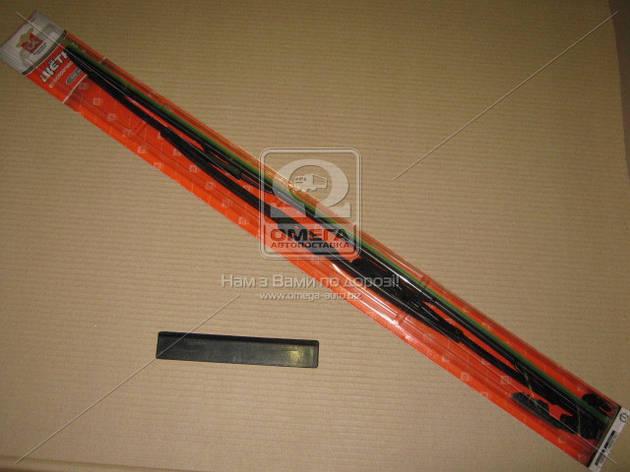 Щетка стеклоочистителя каркасная 690мм (c адаптерами) Дорожная Карта       , фото 2