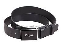 Качественный кожаный ремень Zegna