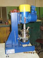 Лабораторная бисерная мельница с одним стаканом. С объёмом 0.5 л.