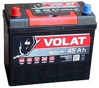 Аккумулятор автомобильный VOLAT - 45A +лев (L1) (400 пуск)