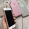 Чехол силиконовый блестящий на iPhone 7, фото 4
