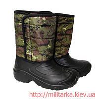 Сапоги мужские ЭКОТЕКС Камуфляж Грузии, фото 1