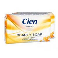 Мыло для рук Cien beauty soap milk&honey 0.150 гр