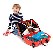 Детский чемоданчик на колесах TRUNKI LADYBUG HARLEY, фото 2