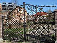 Кованые ворота 2525