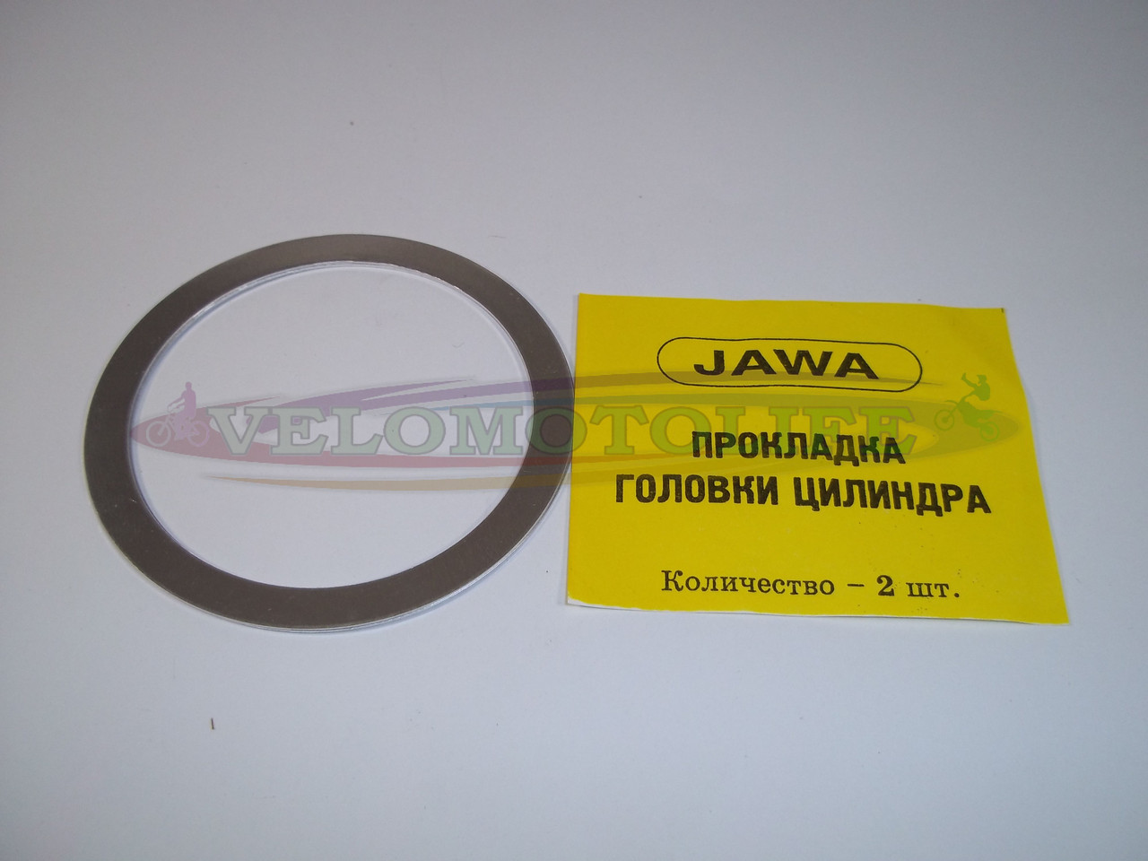 Прокладка головки цилиндра  ЯВА (6V,алюминий)