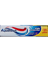 Зубная паста Aquafresh с тройной защой 100мл (Ирландия)