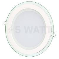 Светильник светодиодный Biom GL-R6 WW 6Вт круглый теплый белый