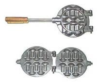 Форма для выпечки грибочков «Гвоздики» без начинки целые на 10 штук -150мм, фото 1