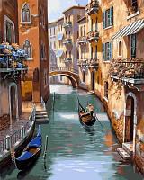 """Картина по номерам """"Каналы Венеции"""" 40 х 50см (в коробке)"""