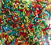 Посипка пасхальна паличка (кольоровий пакетик) 10 г., фото 2