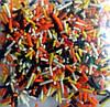 Посыпка пасхальная палочка (цветной пакетик) 10 г., фото 3
