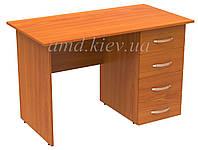 Стол офисный с тумбой АТРИБУТ AC.14.12