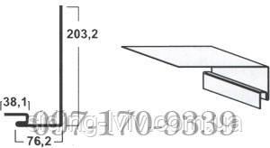 Навколовіконна планка для сайдинга Mitten Канада3,66 м (Мітен, Миттен) Львів