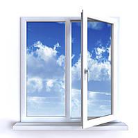 Готовое окно PrimePlast 1300х1400
