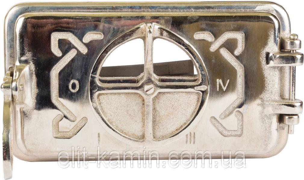 Зольные дверцы Delta Domino (хром) (265х150)