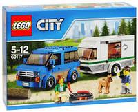 LEGO® City ФУРГОН И ДОМ НА КОЛЁСАХ 60117