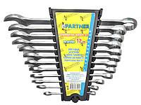 Набор ключей комбинированных PARTNER PA-3012MP 12пр.