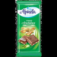 Польский молочный шоколад с арахисом Alpinella