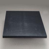 Графитонаполненный листовой капролон (черный капролон, черный полиамид), фото 1