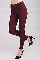 Модные брюки средней посадки