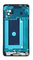 Средняя часть Samsug Galaxy Note 3 (N9005) серебристая