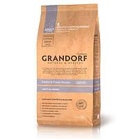 Grandorf Rabbit and Potato All Breeds (Grain Free) беззерновой сухой корм для взрослых собак всех пород с кроликом и бататом, 1кг