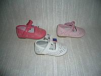 Балетки туфельки для самых маленьких модниц 3 цвета размер 19-24