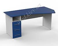Стол офисный с тумбой ДОМИНО ДC.16.16