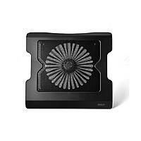 "Подставка под ноутбук Ergo Stand YL-738, 9-17"",120mm LED 1000±10% RPM, корпус пластик, 2xUSB 2.0, 370x265x35mm, Black, Box"