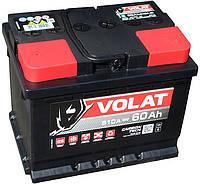 Аккумулятор автомобильный VOLAT - 60A +прав (L2) (610 пуск)