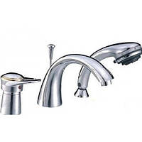 Смеситель для ванны HAIBA Hansberg 022 (3 - HOLE)
