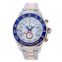 Часы Rolex Oyster Perpetual Yacht-Master blue/white (Механика). Replica: AAA., фото 1