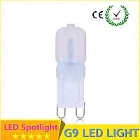 Лампа светодиодная 9Вт 165-265V (стекло) матовая 40SMD2835 Холодный белый 700ЛМ 6500К 280° 60см