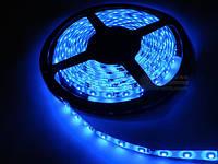 Лента Светодиодная в силиконе 3528, (60 светодиодов) 5 метров катушка Blue