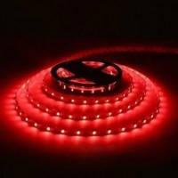Лента Светодиодная в силиконе 3528, (60 светодиодов) 5 метров катушка RED