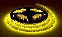 Лента Светодиодная в силиконе 5050, (60 светодиодов) 5 метров катушка Yellow
