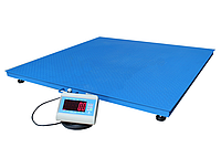Весы платформенные 1250*1250 мм. до 300 кг.