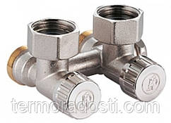 "Угловой клапан Giacomini (3/4""FX3/4""E) R384X002 для 2-х трубных систем"