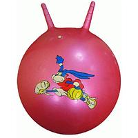 Мяч для фитнеса детский с рожками 65см 400165