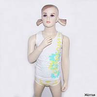 Детский комплект белья для девочки *Ромашки*