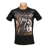 Молодежная футболка хлопок  БАЙК пр-во Турция H4625