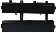 Коллектор распределительный К22В.125(200) в теплоизоляции на 2 контура вверх и 1 вбок (СК-212.125)
