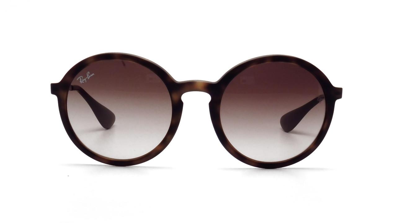 Солнцезащитные очки Ray-Ban Round Brown Gradient RB4222 865/13 50