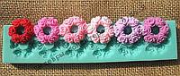 Силиконовый молд бордюрный Цветы из роз