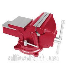 Тиски слесарные поворотные INTERTOOL HT-0053