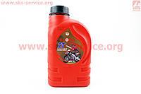 Масло для 2-х тактактных двигателей полусинтетическое  1 л фирмы KLORA